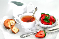 Tea time whith strawberry_