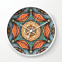 beautiful-fantastic-flowers-wall-clocks