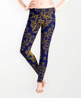 golden-mandala-pattern-on-the-dark-blue-background-leggings (1)
