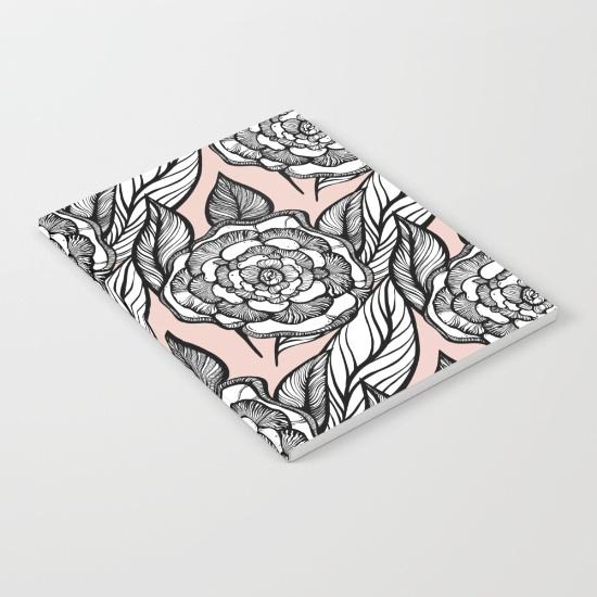 rose-flowers-pattern-notebooks