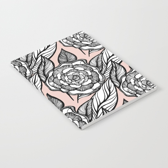 rose-flowers-pattern-notebooks